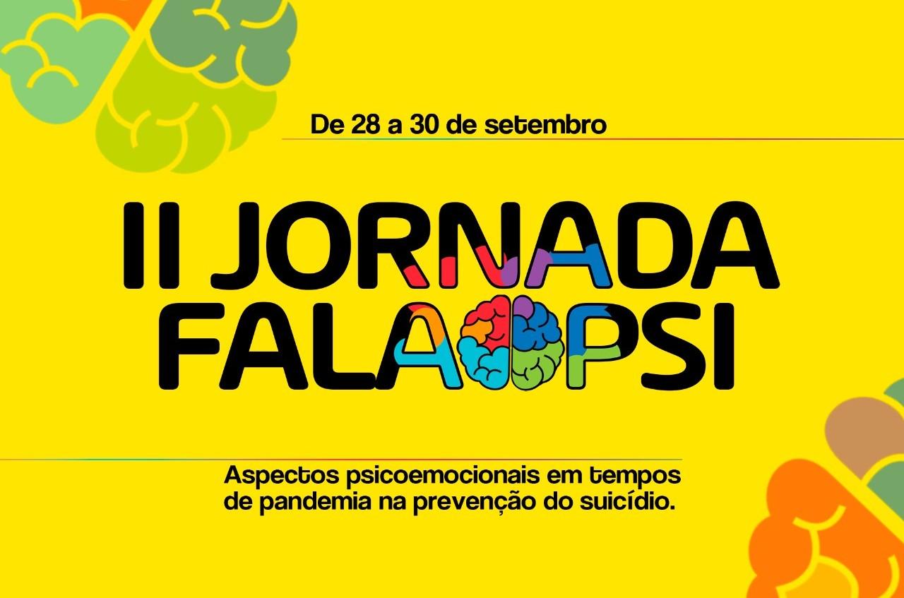 II Jornada FalaPsi será voltada ao Setembro Amarelo