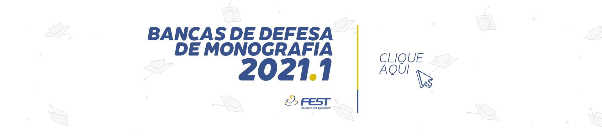 Banca de Monografia 2021.1
